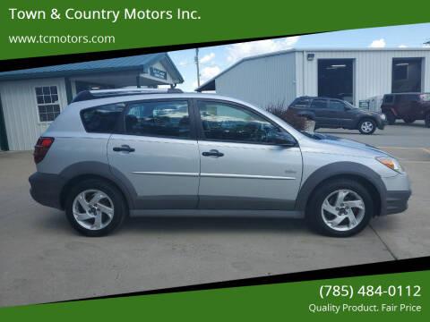 2008 Pontiac Vibe for sale at Town & Country Motors Inc. in Meriden KS
