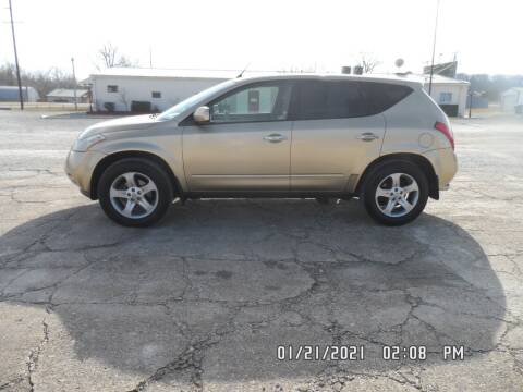 2004 Nissan Murano for sale at Town and Country Motors in Warsaw MO
