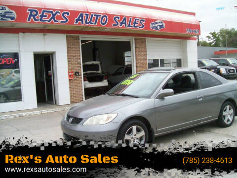 2005 Honda Civic for sale at Rex's Auto Sales in Junction City KS