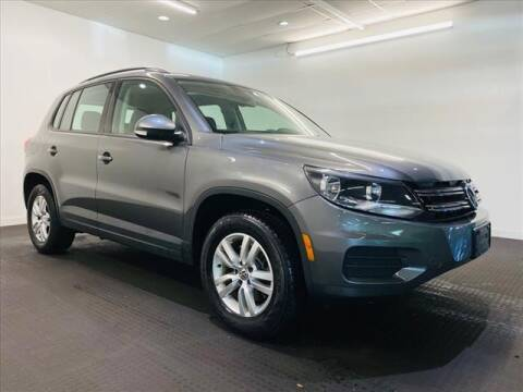2016 Volkswagen Tiguan for sale at Champagne Motor Car Company in Willimantic CT