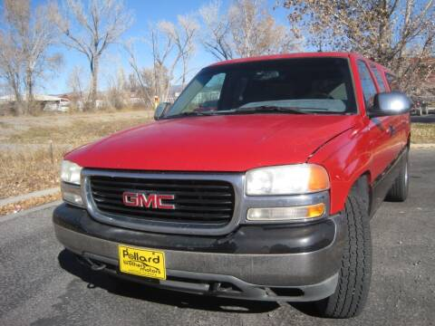 2001 GMC Sierra 1500 for sale at Pollard Brothers Motors in Montrose CO