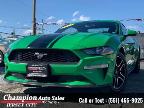 2019 Ford Mustang for sale at CHAMPION AUTO SALES OF JERSEY CITY in Jersey City NJ