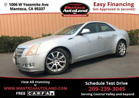 2009 Cadillac CTS for sale at Manteca Auto Land in Manteca CA