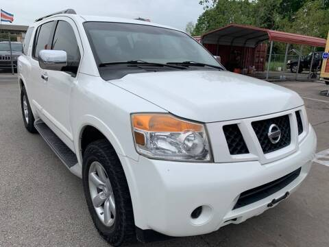 2010 Nissan Armada for sale at JAVY AUTO SALES in Houston TX
