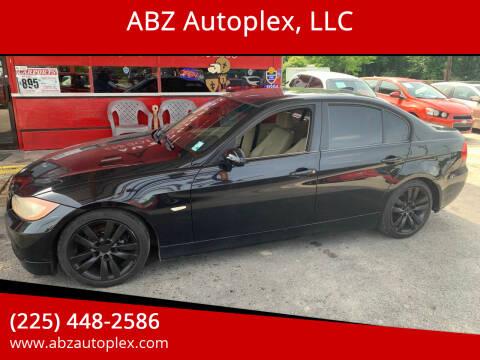 2007 BMW 3 Series for sale at ABZ Autoplex, LLC in Baton Rouge LA