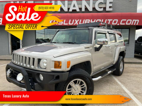 2007 HUMMER H3 for sale at Texas Luxury Auto in Cedar Hill TX