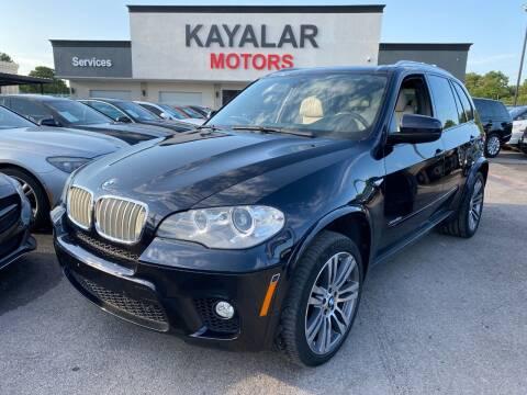 2013 BMW X5 for sale at KAYALAR MOTORS in Houston TX
