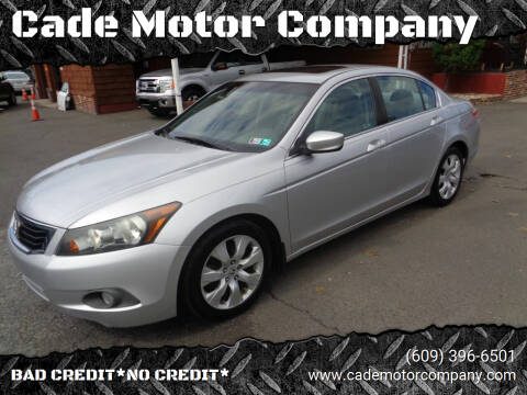 2010 Honda Accord for sale at Cade Motor Company in Lawrenceville NJ