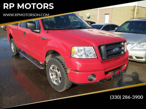 2006 Ford F-150 for sale at RP MOTORS in Canfield OH