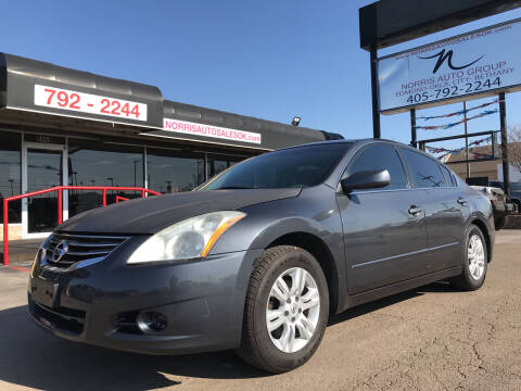 2012 Nissan Altima for sale at NORRIS AUTO SALES in Oklahoma City OK
