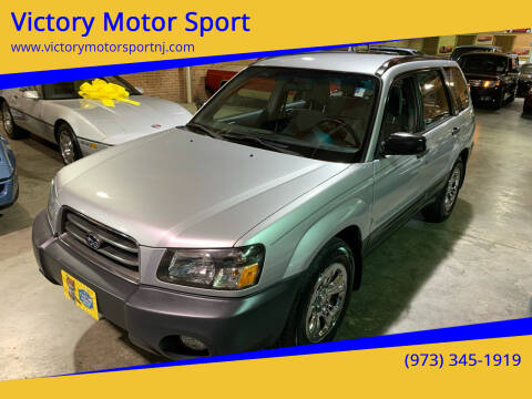 2004 Subaru Forester for sale at Victory Motor Sport in Paterson NJ