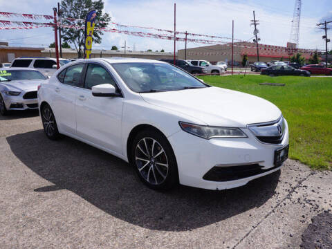 2015 Acura TLX for sale at BLUE RIBBON MOTORS in Baton Rouge LA
