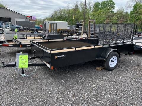 2020 Belmont 6x12 Solid Side for sale at Smart Choice 61 Trailers in Shoemakersville PA