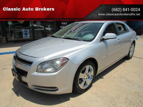 2011 Chevrolet Malibu for sale at Classic Auto Brokers in Haltom City TX