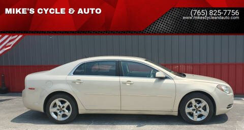 2010 Chevrolet Malibu for sale at MIKE'S CYCLE & AUTO in Connersville IN