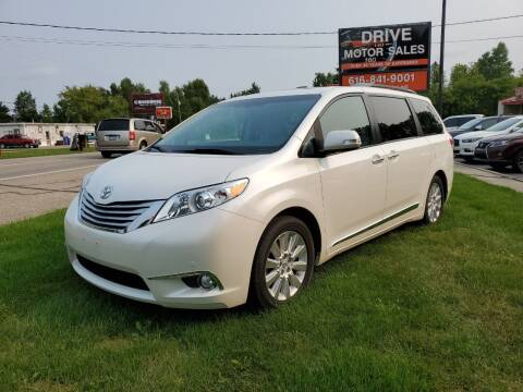 2014 Toyota Sienna for sale at Drive Motor Sales in Ionia MI