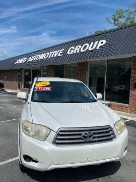 2008 Toyota Highlander for sale at Jones Automotive Group in Jacksonville NC