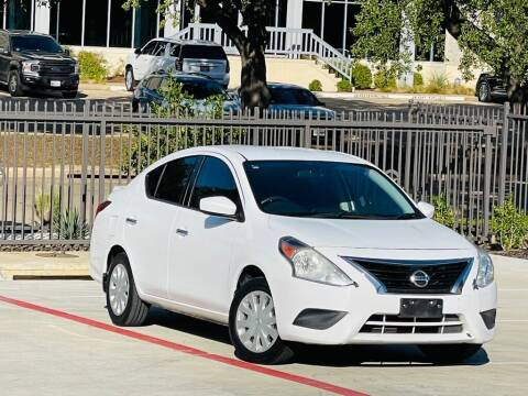 2016 Nissan Versa for sale at Texas Drive Auto in Dallas TX