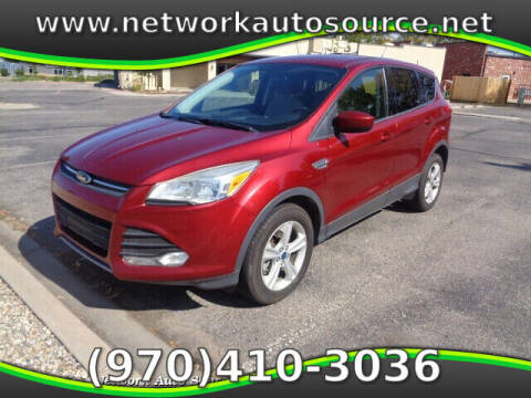 2015 Ford Escape for sale at Network Auto Source in Loveland CO