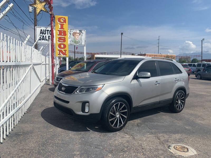 2015 Kia Sorento for sale at Robert B Gibson Auto Sales INC in Albuquerque NM