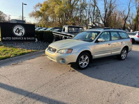 2006 Subaru Outback for sale at Station 45 Auto Sales Inc in Allendale MI