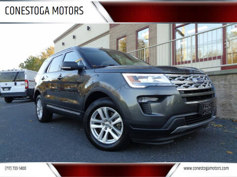 2019 Ford Explorer for sale at CONESTOGA MOTORS in Ephrata PA