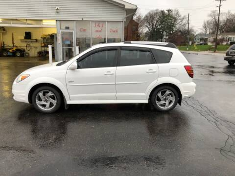 2007 Pontiac Vibe for sale at J&J Car and Truck Sales in North Canton OH