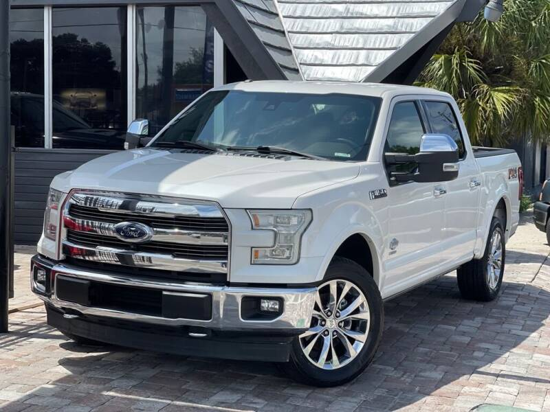 2017 Ford F-150 for sale at Unique Motors of Tampa in Tampa FL