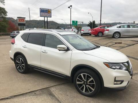 2017 Nissan Rogue for sale at DALE'S PREOWNED AUTO SALES INC in Moundsville WV