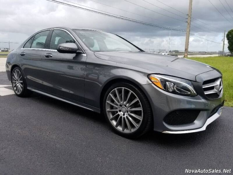 2017 Mercedes-Benz C-Class for sale at Empire Car Sales in Miami FL