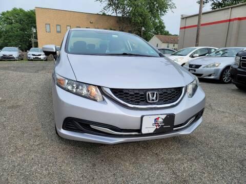 2015 Honda Civic for sale at Kingz Auto Sales in Avenel NJ