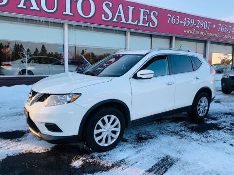 2016 Nissan Rogue for sale at LUXURY IMPORTS AUTO SALES INC in North Branch MN