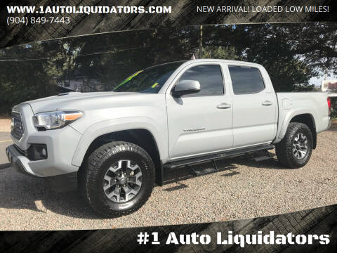 2019 Toyota Tacoma for sale at #1 Auto Liquidators in Yulee FL