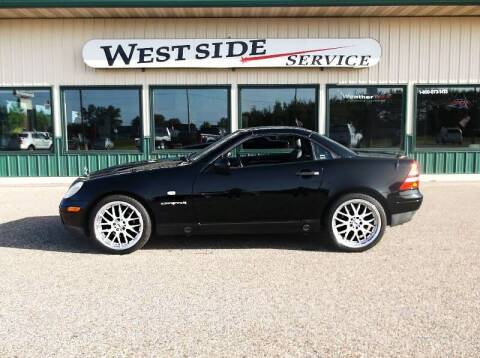 1998 Mercedes-Benz SLK for sale at West Side Service in Auburndale WI