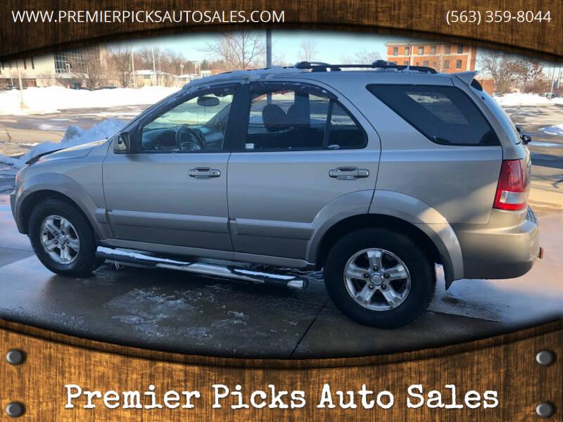 2006 Kia Sorento for sale at Premier Picks Auto Sales in Bettendorf IA