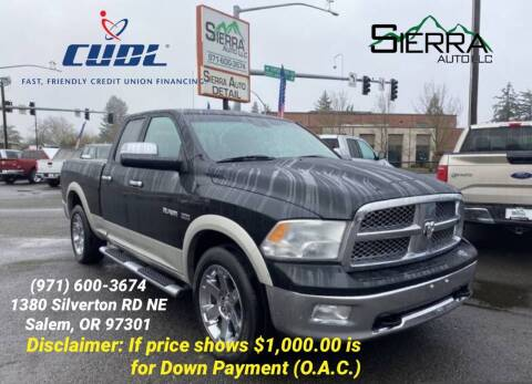 2010 Dodge Ram Pickup 1500 for sale at SIERRA AUTO LLC in Salem OR