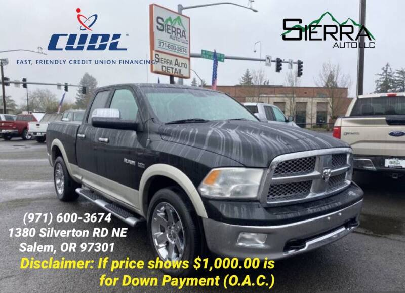 2010 Dodge Ram Pickup 1500 for sale at SIERRA AUTO LLC in Salem OR