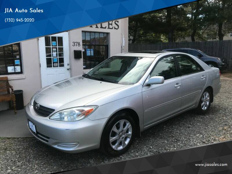 2002 Toyota Camry for sale at JIA Auto Sales in Port Monmouth NJ