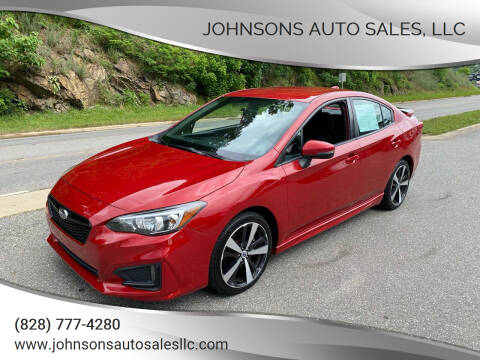 2018 Subaru Impreza for sale at Johnsons Auto Sales, LLC in Marshall NC