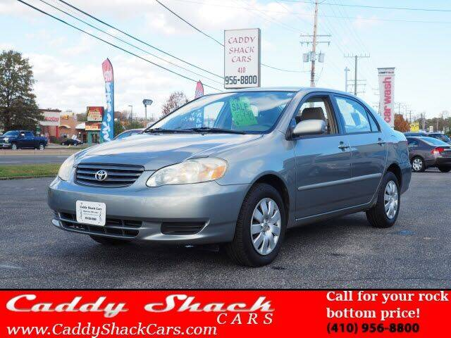 2003 Toyota Corolla for sale at CADDY SHACK CARS in Edgewater MD