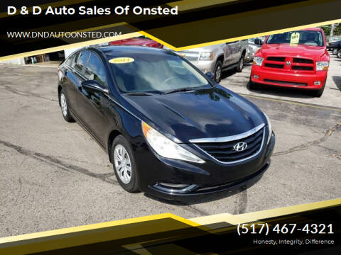 2011 Hyundai Sonata for sale at D & D Auto Sales Of Onsted in Onsted MI