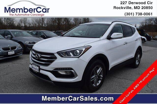 2018 Hyundai Santa Fe Sport for sale at MemberCar in Rockville MD