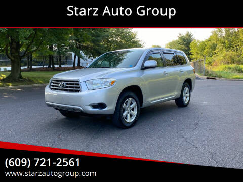 2008 Toyota Highlander for sale at Starz Auto Group in Delran NJ