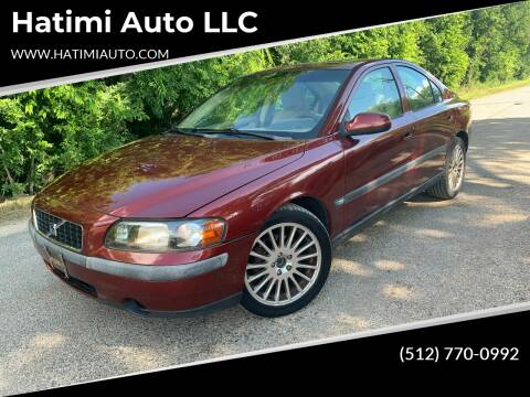 2001 Volvo S60 for sale at Hatimi Auto LLC in Buda TX