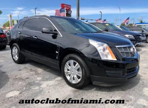 2012 Cadillac SRX for sale at AUTO CLUB OF MIAMI, INC in Miami FL