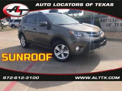 2013 Toyota RAV4 for sale at AUTO LOCATORS OF TEXAS in Plano TX
