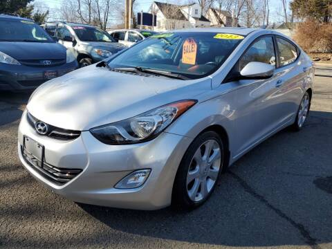2013 Hyundai Elantra for sale at CENTRAL GROUP in Raritan NJ