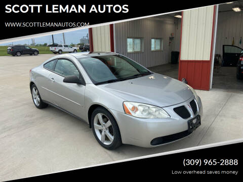 2006 Pontiac G6 for sale at SCOTT LEMAN AUTOS in Goodfield IL