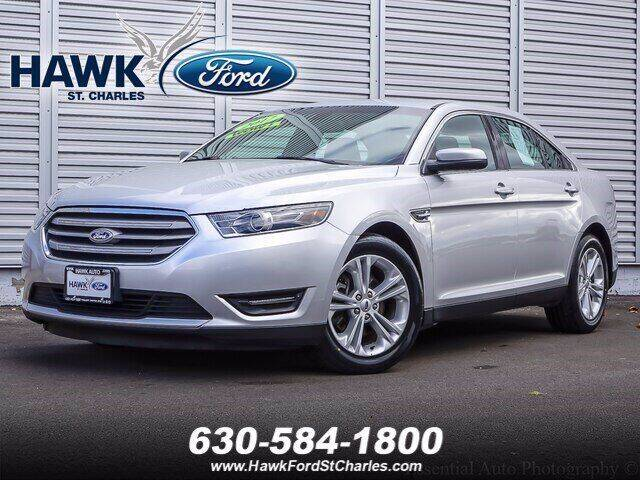 2017 Ford Taurus for sale at Hawk Ford of St. Charles in St Charles IL