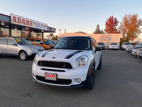 2015 MINI Paceman for sale at Adams Auto Sales in Sacramento CA